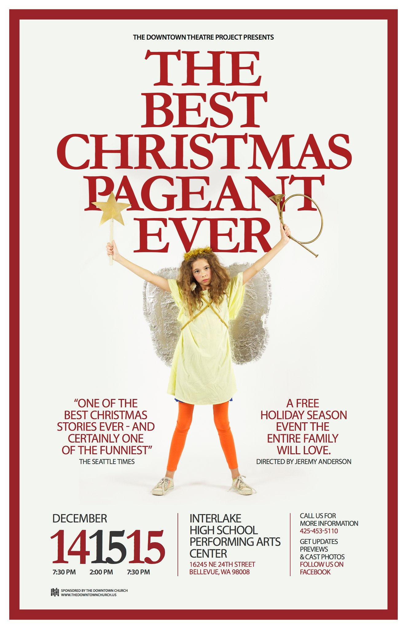 by barbara robinson bxpe poster - The Best Christmas Pageant Ever Summary