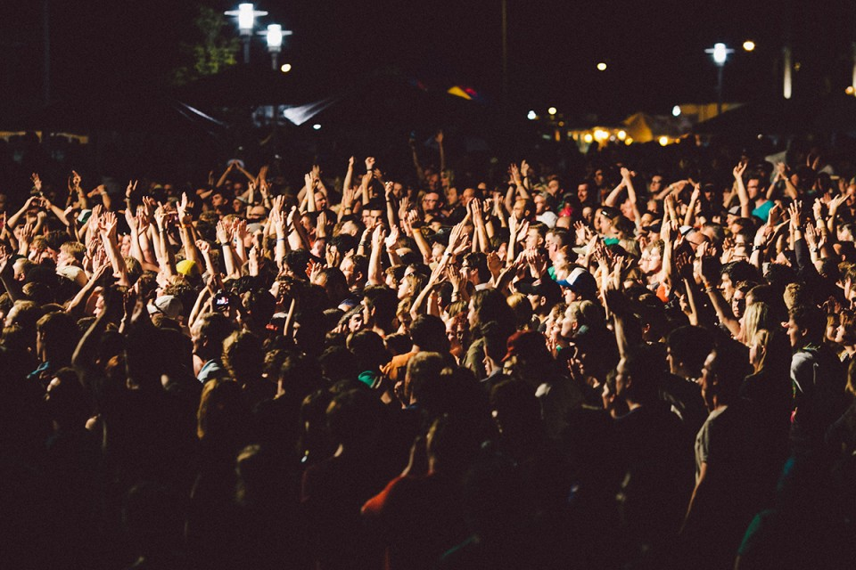 Public festival musique