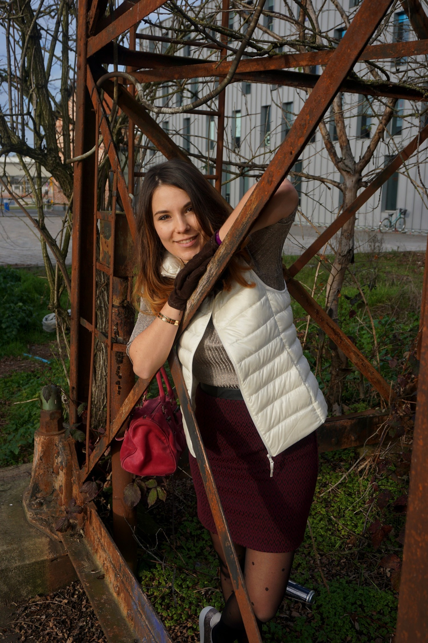 LOOK CHIC DECONTRACTE BORDEAUX PONT CHABAN DELMAS BLOG MODE LIFESTYLE UNIQLO LONGCHAMPS NAF NAF 11