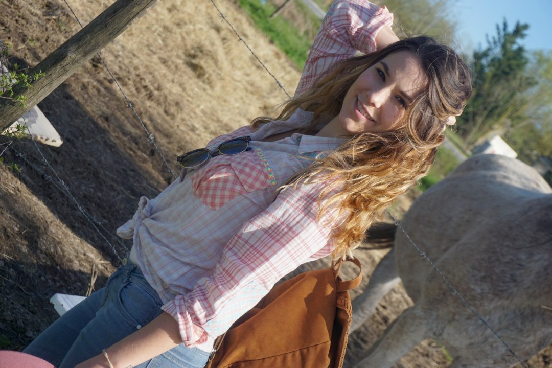 LOOK WESTERN GIRLY COW GIRL CHAPEAU ROSE BLOG MODE BORDEAUX FRANCE CORSE FASHION CENTRE EQUESTRE 10