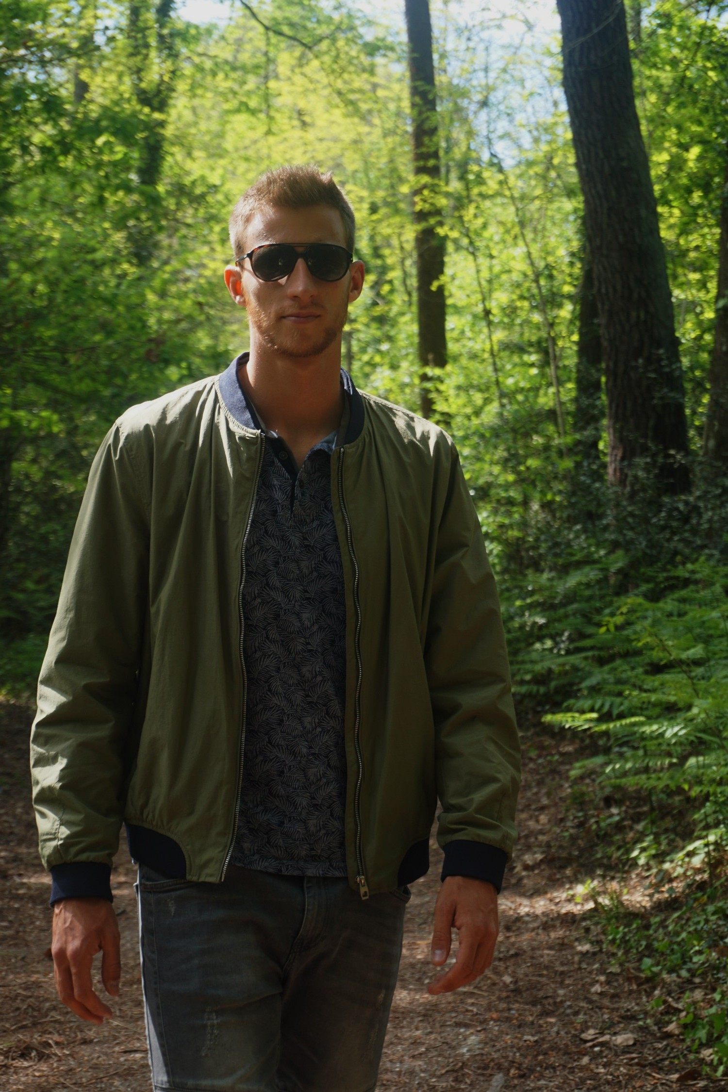 LOOK SPORTWEAR CHIC HOMME BOMBER ZARA PRINTEMPS BLOG BORDEAUX MODE LIFESTYLE 12