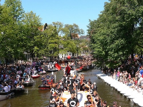 2007 Gay Pride Canal Parade in Amsterdam