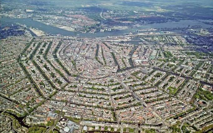 Amsterdam aerial photo