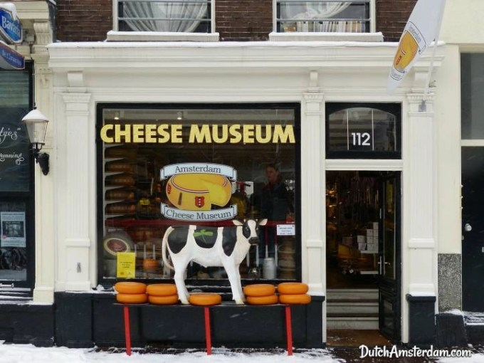 Cheese museum shop