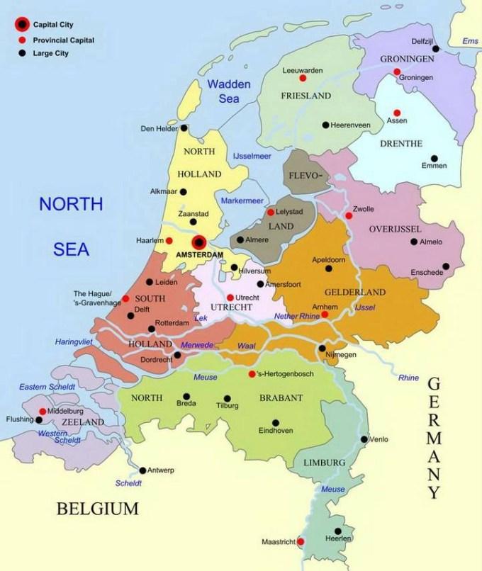 Where Is Amsterdam Amsterdam Tourist Information