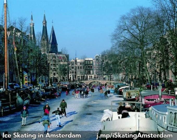 ice skating keizersgracht amsterdam