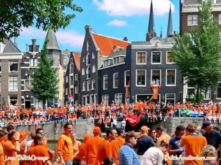 why the dutch wear orange dutchamsterdam com