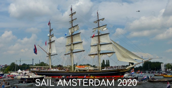 tall ship in Amsterdam