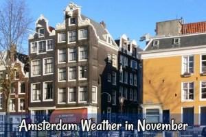 November weather