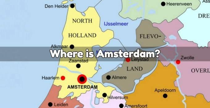 Amsterdam On Map Where is Amsterdam? | DutchAmsterdam.com