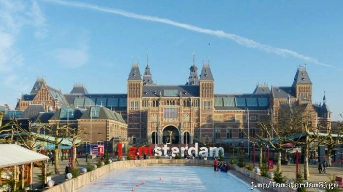 iconic 'i amsterdam' letters removed | dutchamsterdam