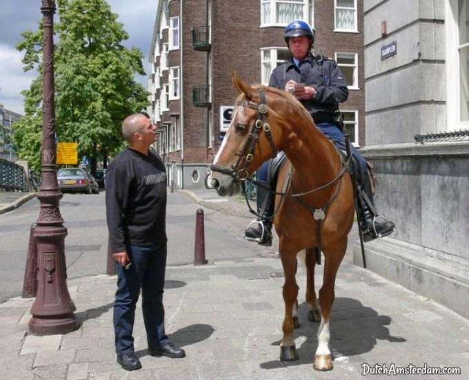 police on horseback