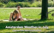 July weather forecast Amsterdam