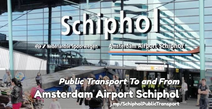 Aiport Icon Subway Map.Public Transport To And From Amsterdam Schiphol Airport
