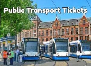 Amsterdam Public Transport Tickets