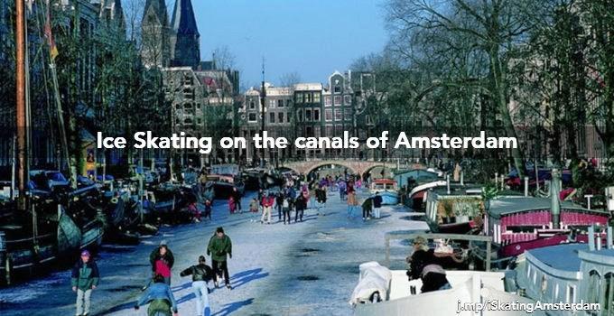 amsterdam canals skating