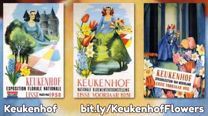 keukenhof flower garden posters