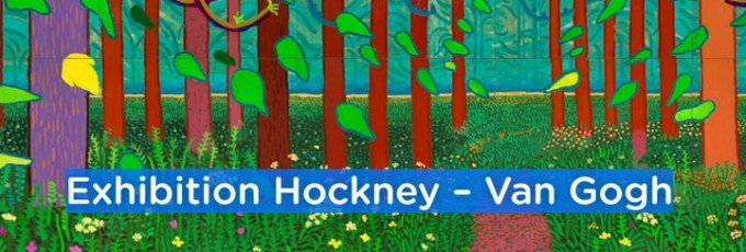 Hockney Van Gogh exhibition
