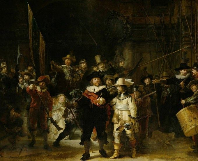 The Night Watch, by Rembrandt
