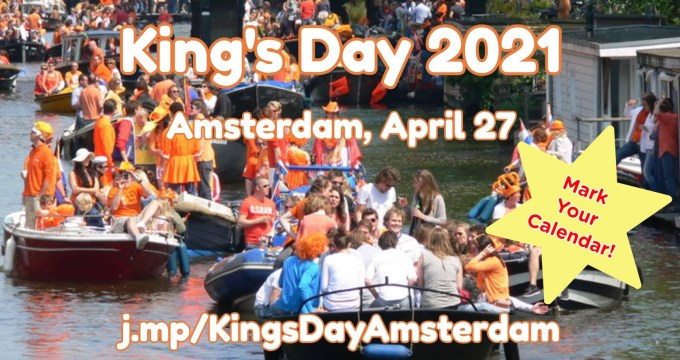 King's Day 2021 in Amsterdam