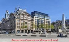 Amsterdam coronavirus lockdown measures eased