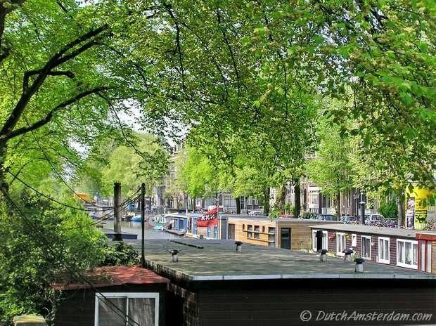 Amsterdam houseboats, Jacob van Lennepkade