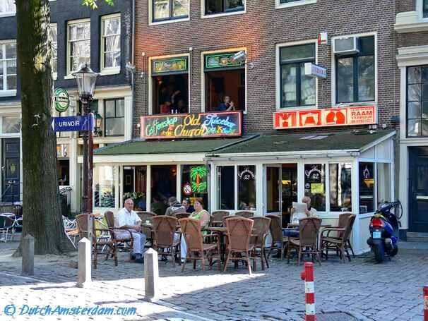 Coffeeshop Old Church, Amsterdam