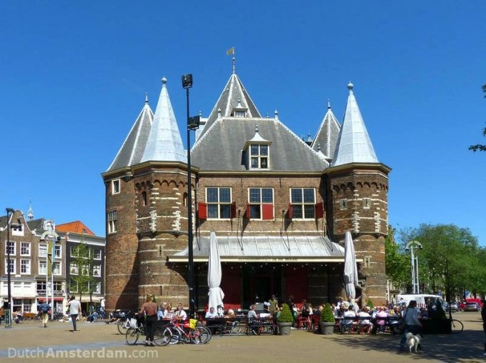 Waag weighing house
