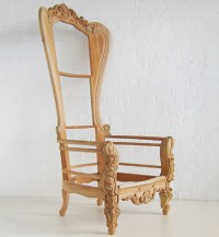 Statement Throne Chair / Prince Chair Low / Dutch Connection