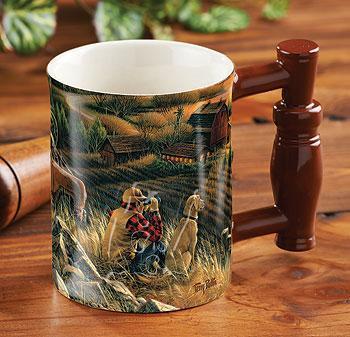 Best FriendsSculpted Coffee Mug