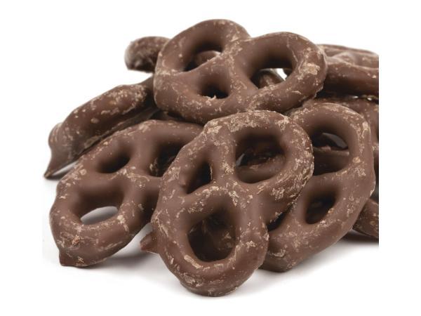Chocolate Coated Mini Pretzels 1lb