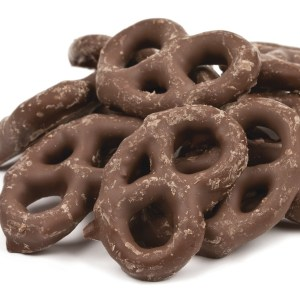 Chocolate Coated Mini Pretzels 1lb