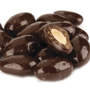 Dark Chocolate Almonds 1lb
