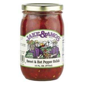 J&A Sweet & Hot Pepper Relish