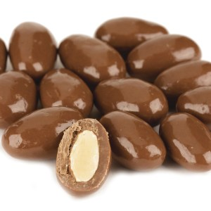 Milk Chocolate Almonds 1lb