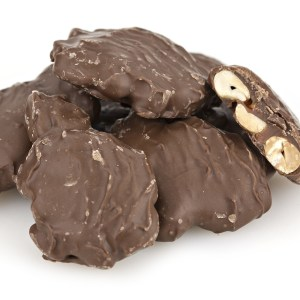 Milk Chocolate Caramel Peanut Clusters 1lb