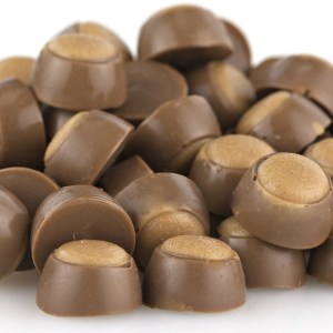 Mini Milk Chocolate Peanut Butter Buckeyes 1lb