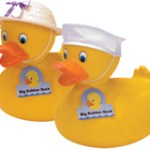RUBBER DUCKIES LARGE