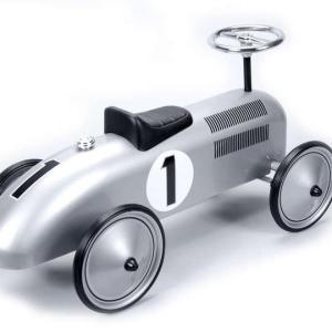 SPEEDSTER-SILVER RACE CAR