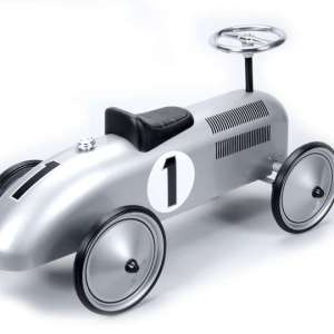SPEEDSTER-SILVER RACE CAR