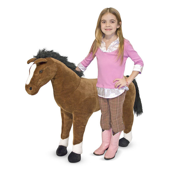 Horse Giant Stuffed Animal Dutch Country General Store