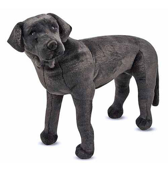Black Lab Giant Stuffed Animal Dutch Country General Store