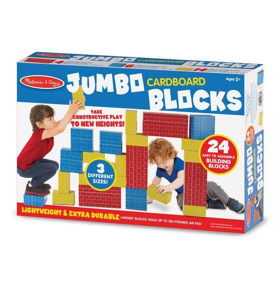 Jumbo Cardboard Blocks (24pc) - Dutch Country General Store