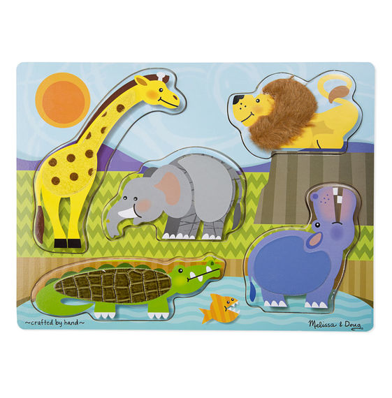 Melissa And Doug Sound Puzzle Game For Age 2 Zoo Animals Latest Fashion