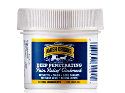 Amish Origins® Deep Penetrating Pain Relief Ointment 1oz