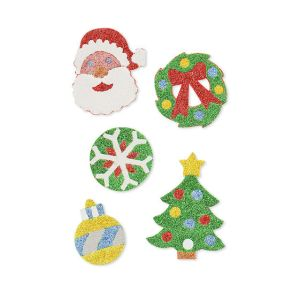 Mess-Free Glitter - Christmas Foam Stickers
