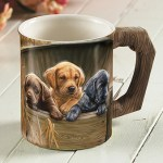 All Hands on Deck – Lab Pups Coffee Mug