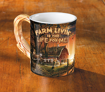 Farm Livin' is the Life for Me! Coffee Mug