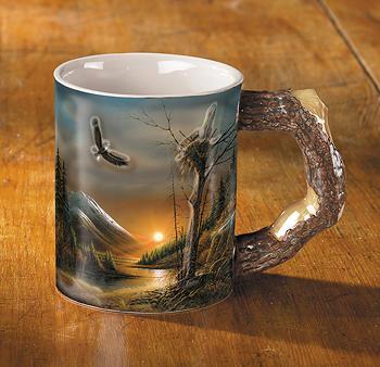 Flying Free – Eagle Coffee Mug