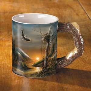 Flying Free – Eagle Coffee Mug